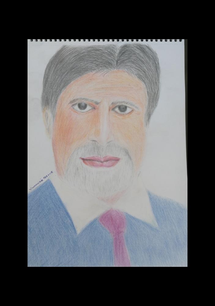 Amitabh Bachchan by vinodnair